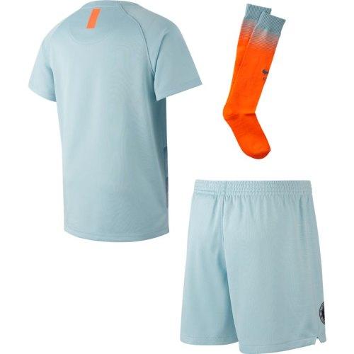 timeless design 0f3a4 b6774 FC Chelsea Little Boys Third Football Kit 2018-19