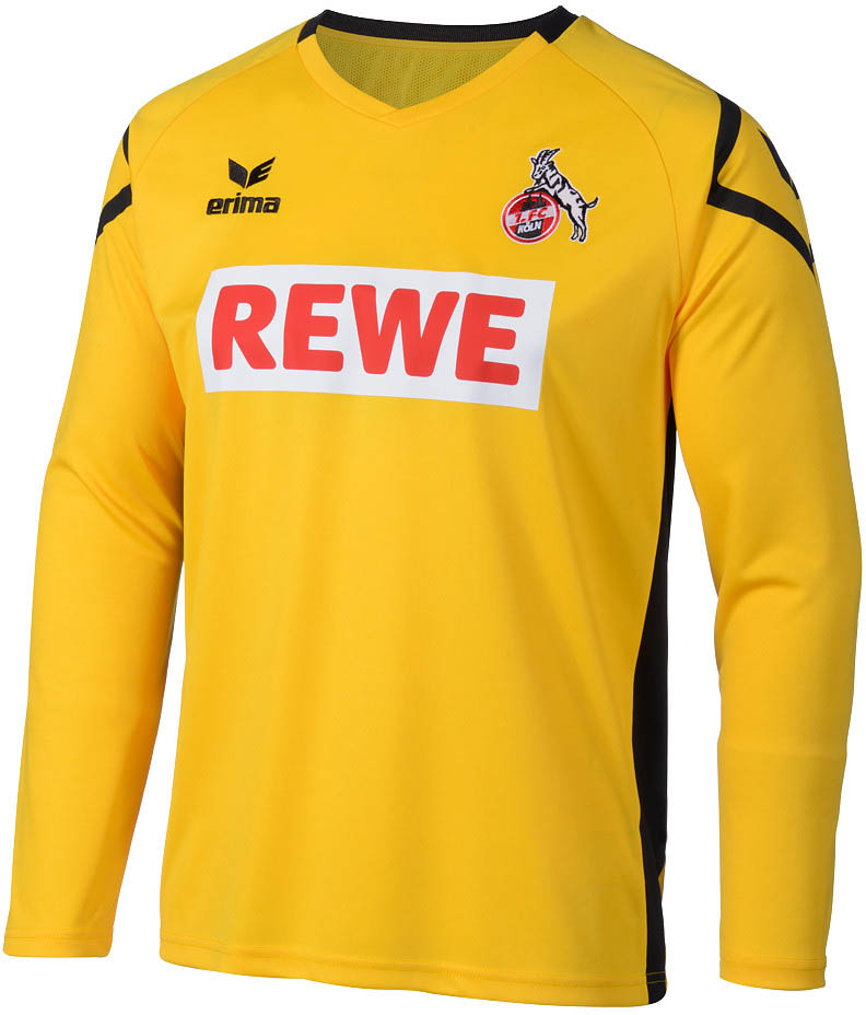 369101cb8d1 1. FC Cologne Goalkeeper Jersey 2015-16