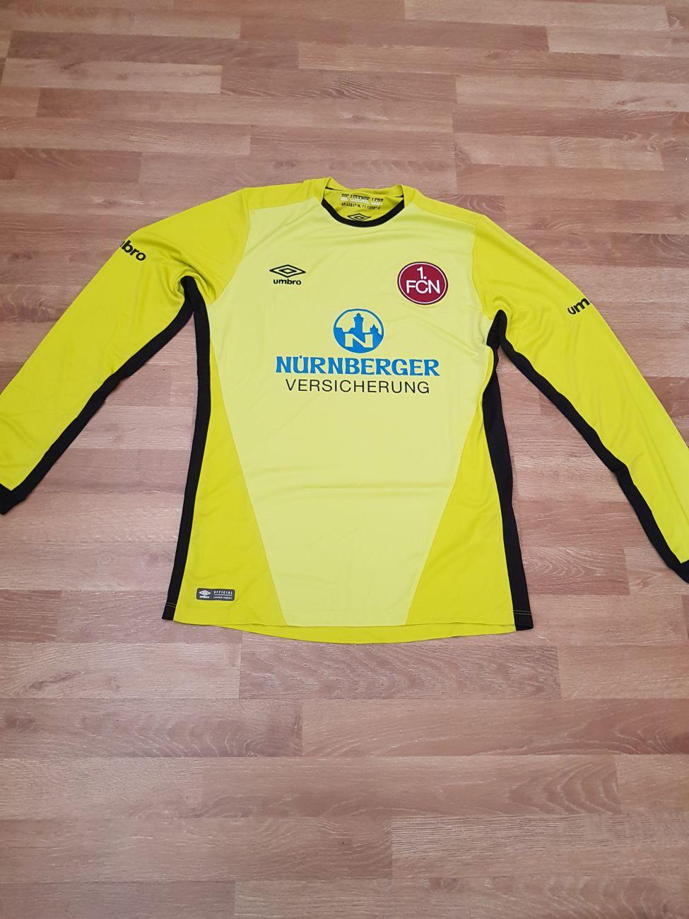 big sale abd6c b27c2 1. FC Nürnberg Goalkeeper Jersey 2016-17