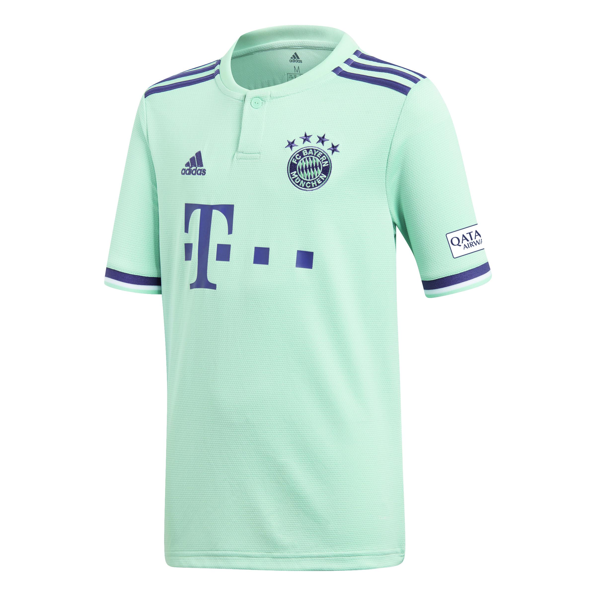 online store 5a873 31eec FC Bayern Munich Children Away Jersey 2018-19