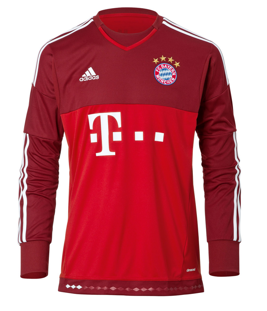 fc bayern m nchen ausweich torwart trikot 2015 16. Black Bedroom Furniture Sets. Home Design Ideas