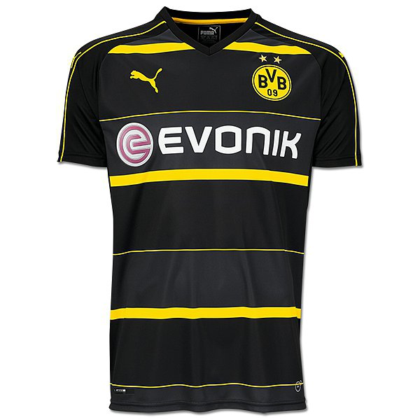 borussia dortmund ausw rts trikot 2016 17. Black Bedroom Furniture Sets. Home Design Ideas