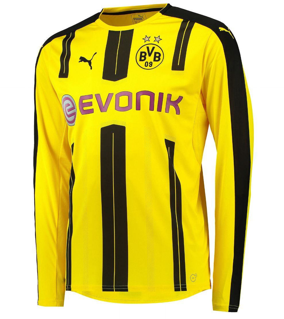 borussia dortmund trikot 2016 17 langarm klubtrikot ch. Black Bedroom Furniture Sets. Home Design Ideas