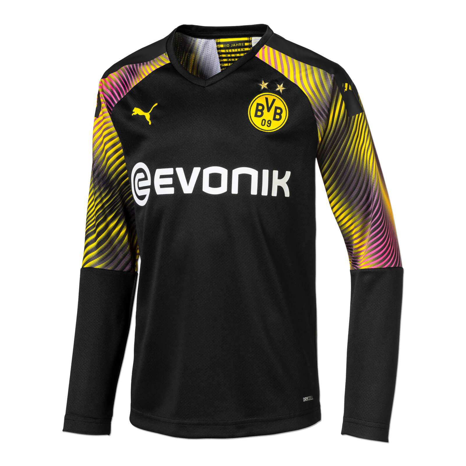 Borussia Dortmund Kinder Torwart Trikot 2019 20 schwarz