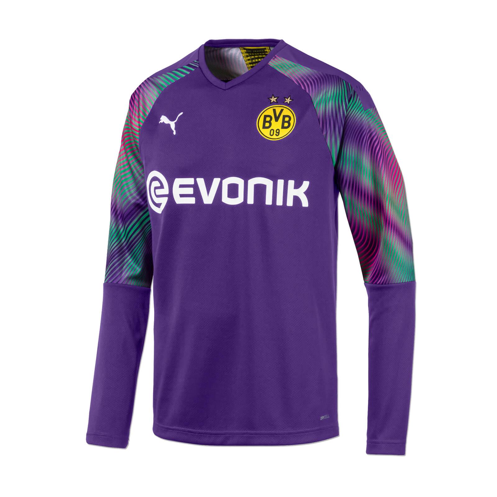 Borussia Dortmund Children Goalkeeper Jersey 2019 20 Violet