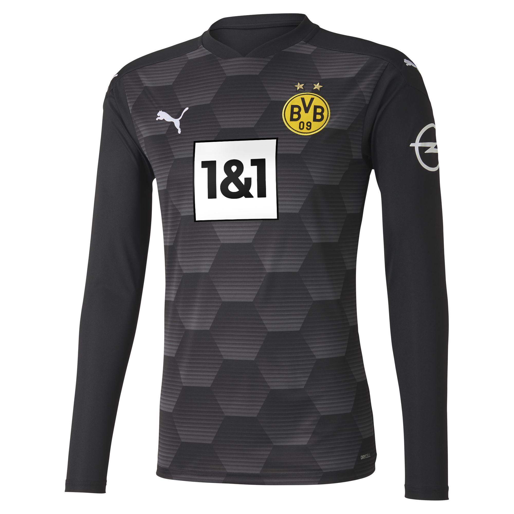 Borussia Dortmund Children Goalkeeper Jersey 2020 21 Black