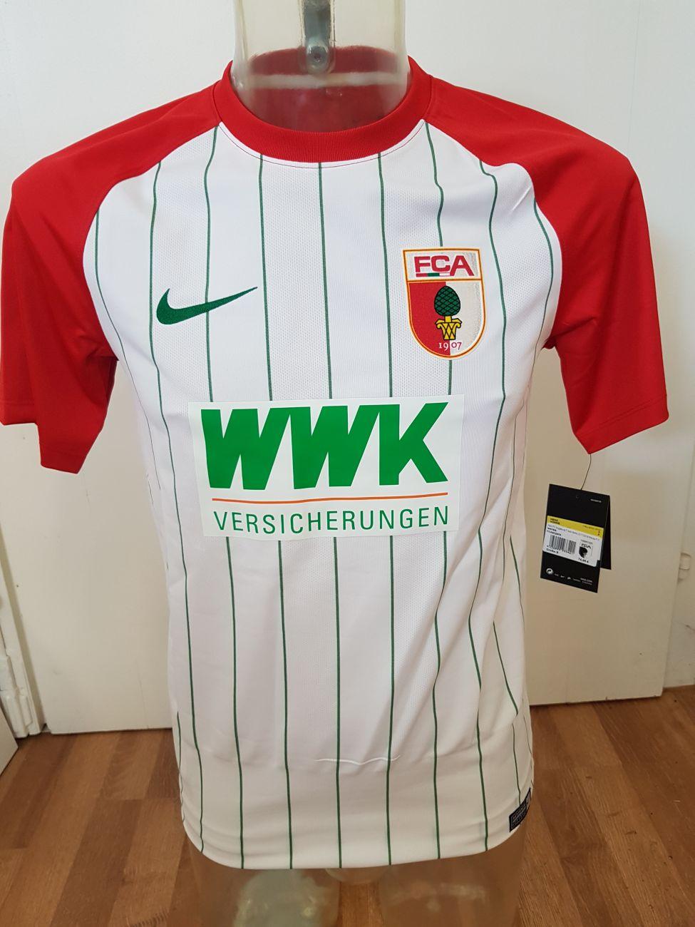 19b4f2423 FC Augsburg Jersey 2017-18