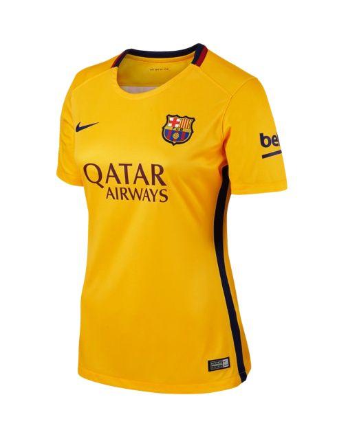 FC Barcelona Away Women Jersey 2015-16 ef41077e5a