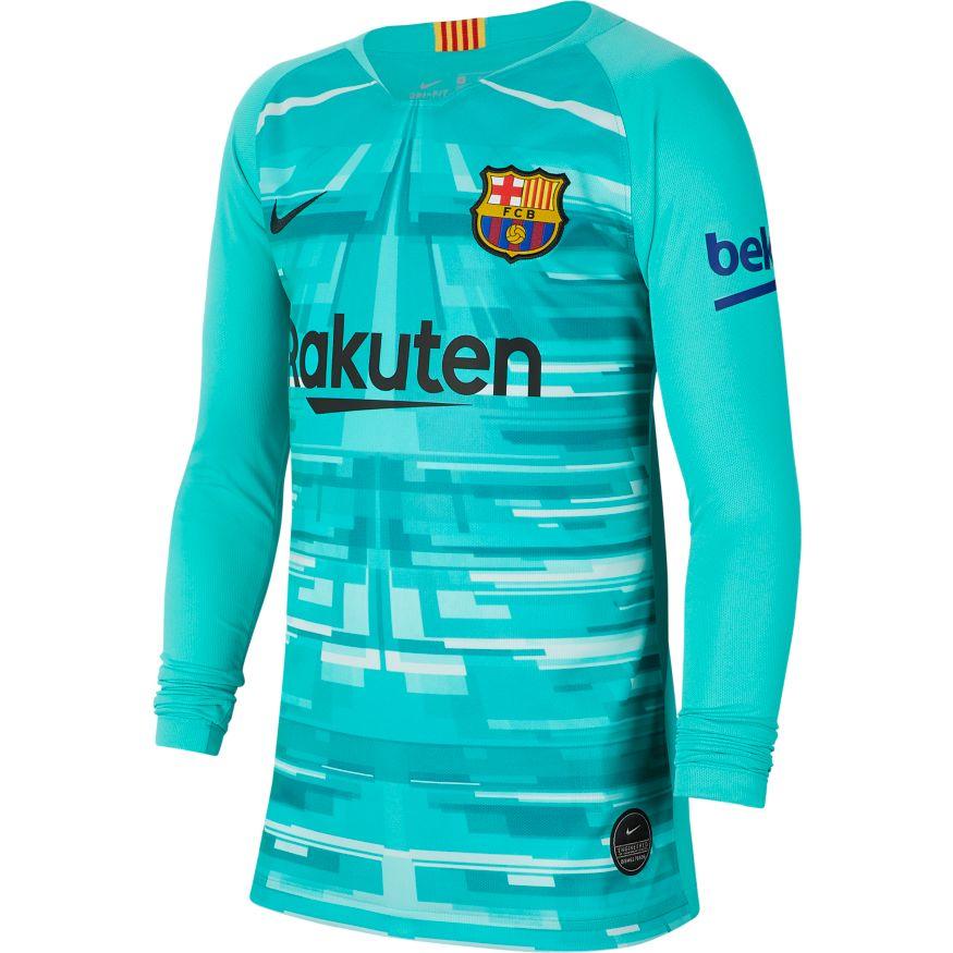 low priced 29b16 6f27c FC Barcelona Goalkeeper Jersey 2019-20