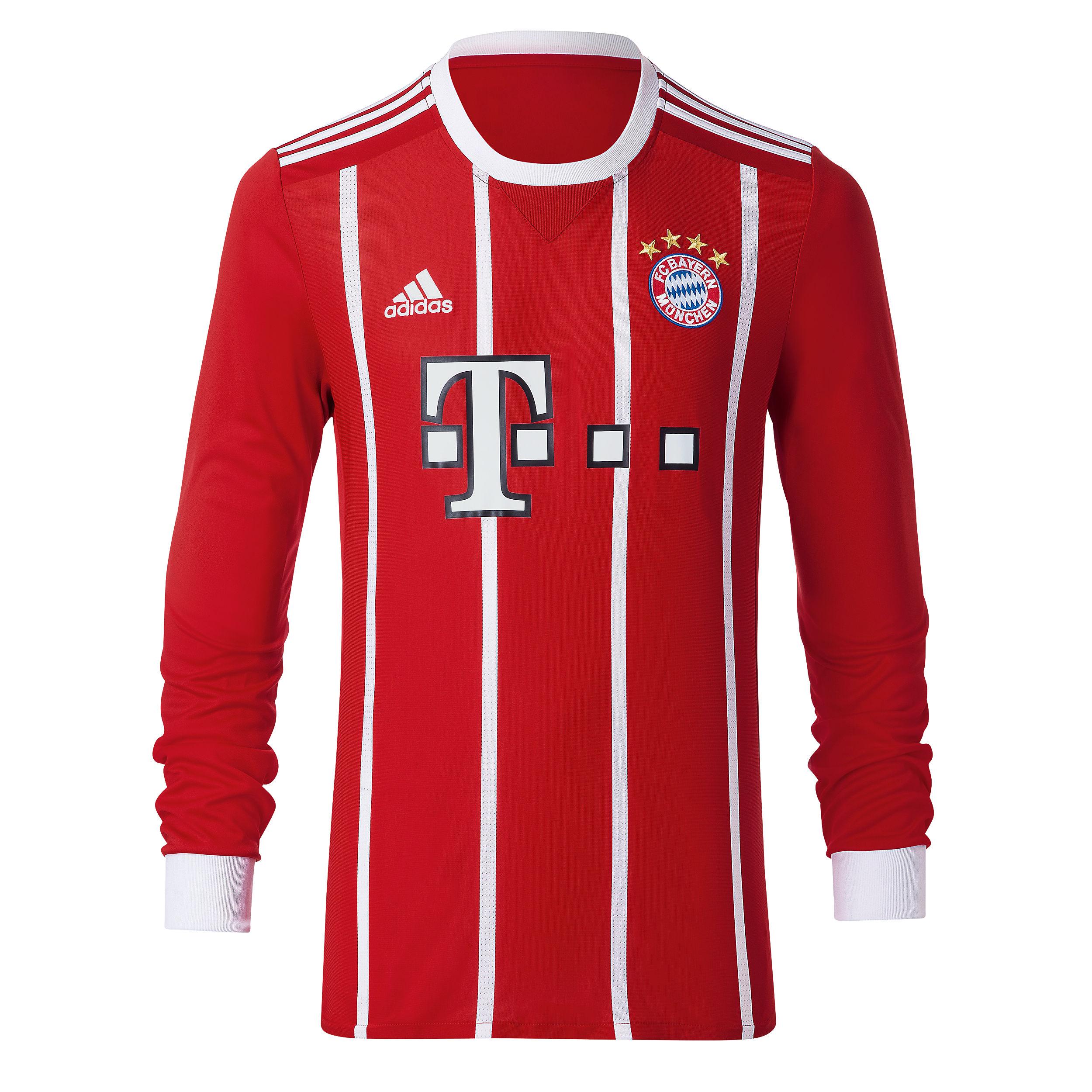 c51572223dd3b FC Bayern Munich Jersey 2017-18 - longsleeve