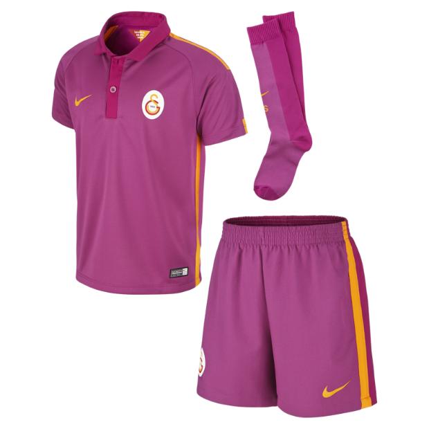 half off 77a99 f477f Galatasaray Istanbul Little Boys Third Football Kit 2014-15