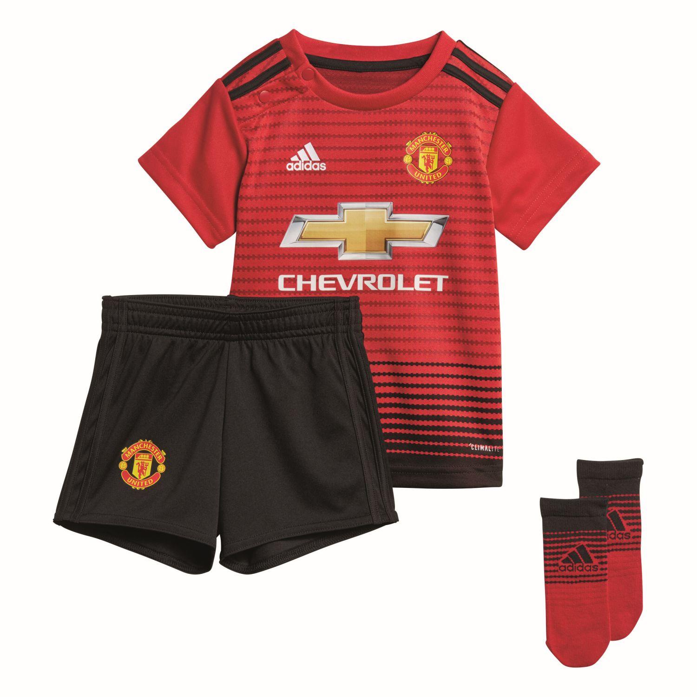 Manchester United Trikotsatz Für Babies 2018-19