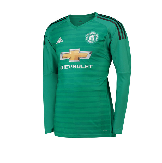 90fa0d181 Manchester United Goalkeeper Jersey 2018-19