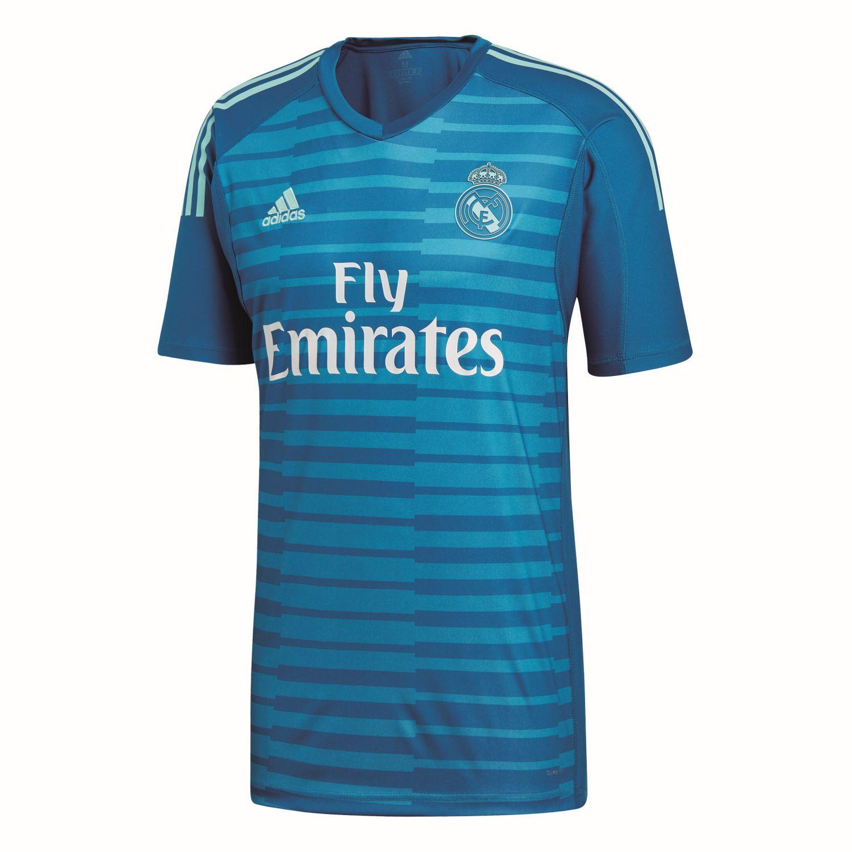 Real Madrid Kinder Auswärts Torwart Trikot 2018 19