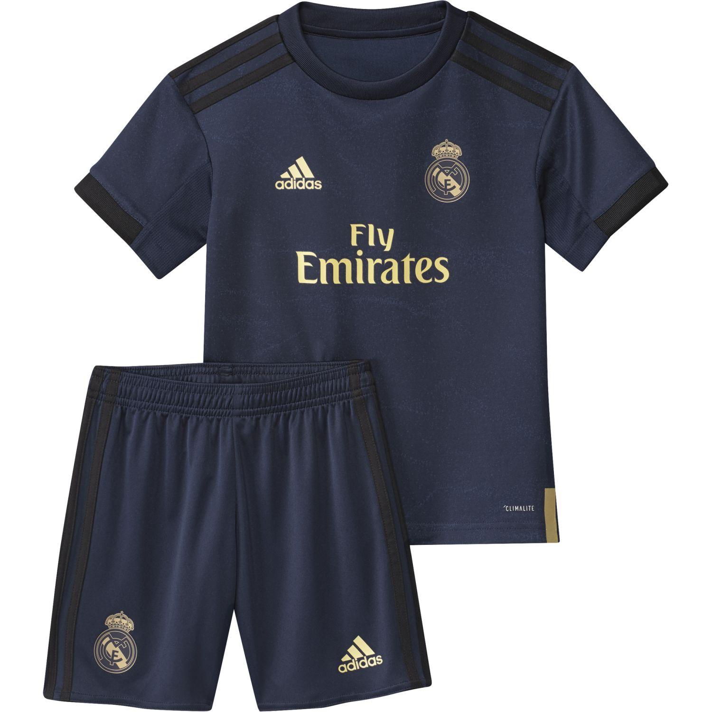 quality design 5fdb8 e3961 Real Madrid Away Little Boys Football Kit 2019-20