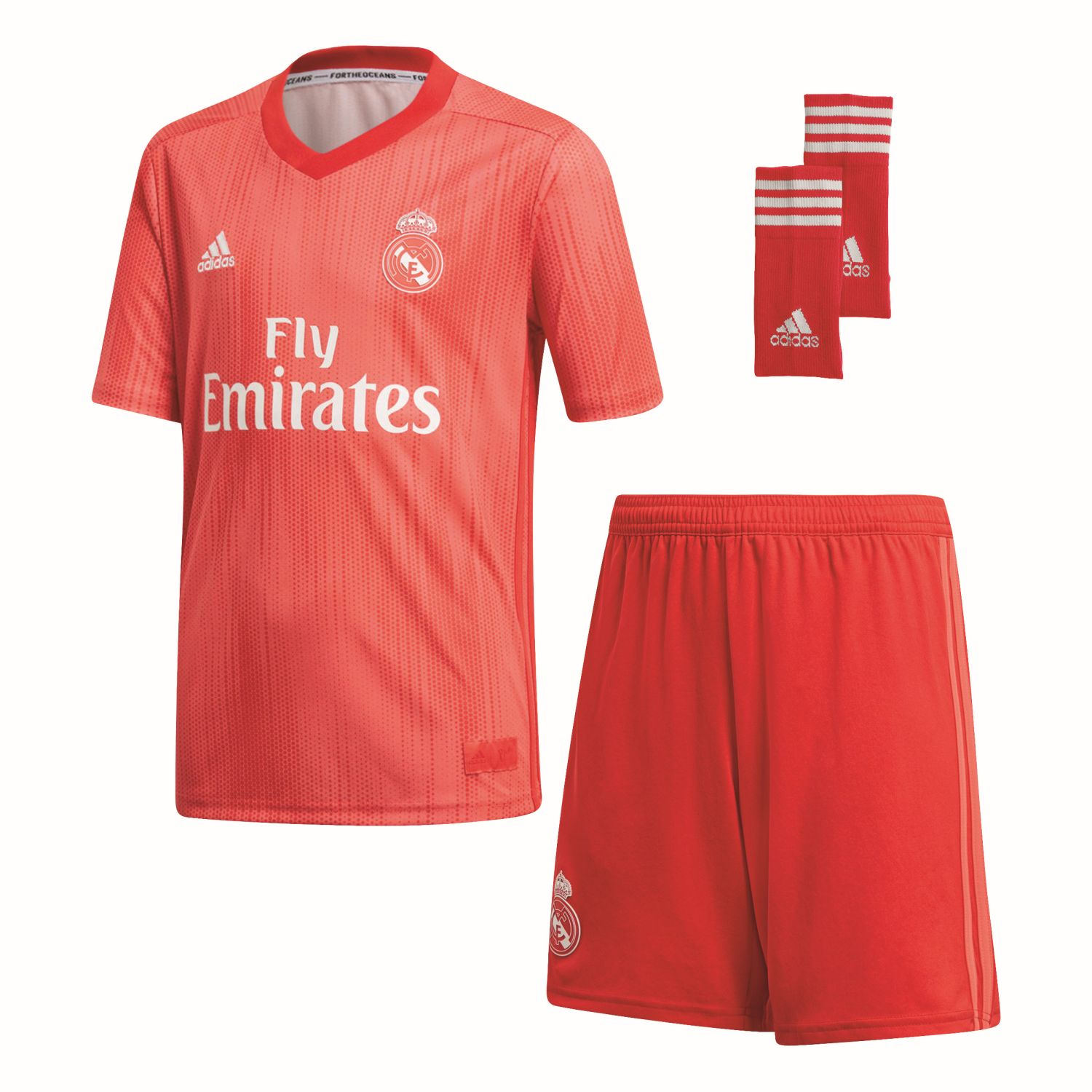 5108cb3e275 Real Madrid Children Third Football Kit 2018-19