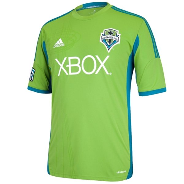 new styles 53dcb ef4c3 Seattle Sounders Home Jersey 2014-15
