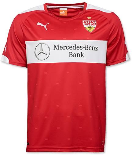 innovative design 21f6d 9b734 VfB Stuttgart Auswärts Trikot 2014-15