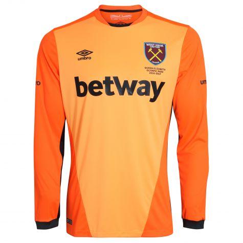 size 40 7c6e8 b16da West Ham United Goalkeeper Jersey 2016-17
