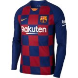 Messi 10 - FC Barcelona Jersey 2019-20 - longsleeve - BADGES INCLUDED