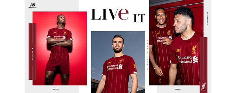 FC Liverpool Trikot mit Originaldruck KLUBTRIKOT.CH